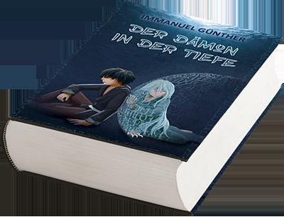 """Bild des Hardcovers des Romans """"Der Dämon in der Tiefe"""""""